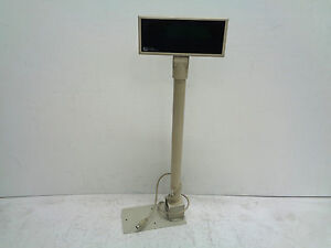 Logic Controls Pos Pole Displays Pd3000 9 White