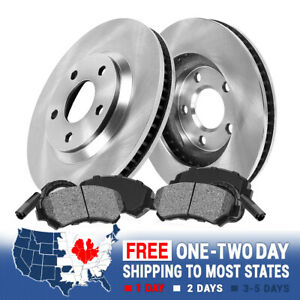 Rear Brake Rotors And Metallic Pads For 2001 2004 2005 2006 2007 Ford Focus
