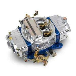 Holley Carburetor 0 76851bl 850 Cfm Manual Choke Blue polished