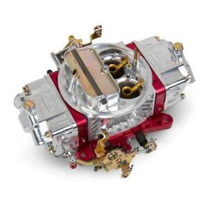 Holley Carburetor 0 76851rd 850 Cfm Manual Choke Red polished