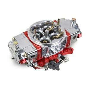 Holley Carburetor 0 80804rdx 850 Cfm No Choke Red Anodized polished