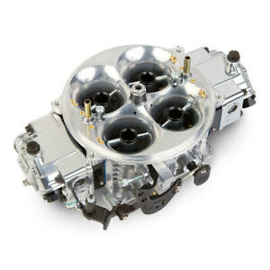 Holley Carburetor 0 80906bk 1150 Cfm No Choke Black Anodized Polished