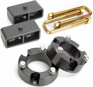 3 Front And 2 Rear Leveling Lift Kit For 2007 2020 Chevy Silverado Sierra Gmc