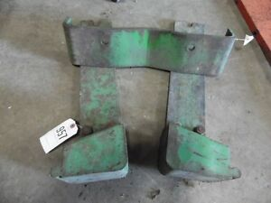 John Deere Front Suitcase Weight Bracket Tag 957