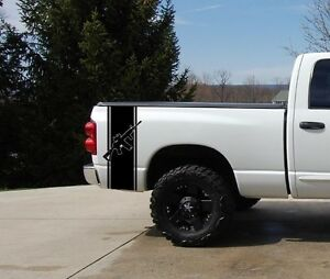 Ar15 Pickup Truck Bed Stripe Decal Set 2 Chevy Dodge Nissan Toyota Ford Gmc