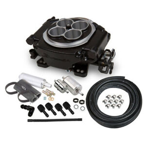 Sniper By Holley Fuel Injection System Kit 550 511k 650hp Self tuning Tbi Black