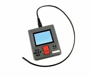 8 5mm Borescope Camera With 3 5 Monitor Aa Battery Powered Recording 1 Meter