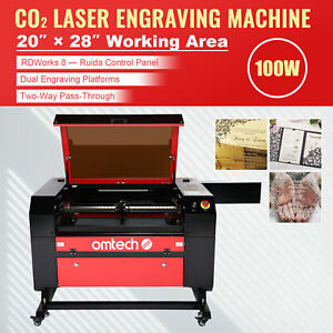 40w Co2 Laser Engraver Cutting Machine Crafts Cutter Engraving Usb Interface New