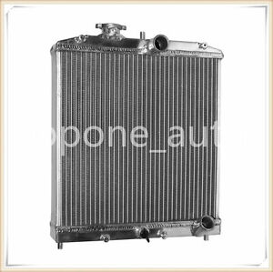 Universal 3 Row 56mm Aluminum Radiator For Honda Civic 1992 1998 Mt