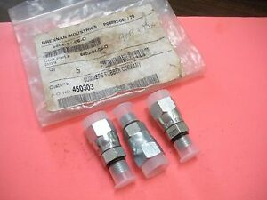 Hydraulic Fitting Swivel Straight Male To Female 4 X 6 Lot Of 3