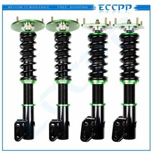 Full Set For 2003 05 Dodge Neon Srt 4 Coilover Strut Shock Absorbers Suspension