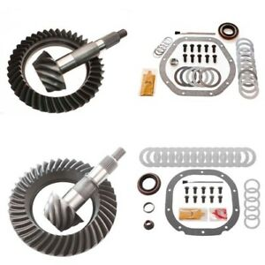 4 56 Ring And Pinion Gears Install Kit Package Dana 44 Rev Front 8 8 Rear