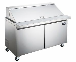 Heavy Duty Commercial 2 Door Mega Sandwich salad Prep Table 36 Width