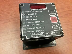 Perfection Electronic Products Corp Charger Sentry Model 985 cracked Case