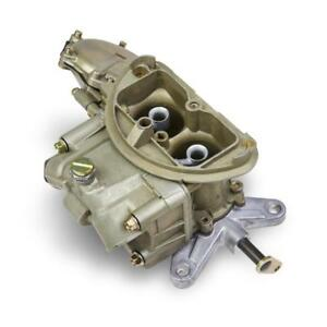 Holley Carburetor 0 4672 Gold Dichromate 500 Cfm 2 Barrel No Choke