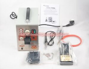709a 2 In 1 Battery Spot Welder Weld Mobile Welding Pen Soldering Iron Station