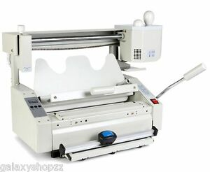 New 4 In 1 Hot Melt Glue Book Binder Perfect Binding Machine A4 Size 220v