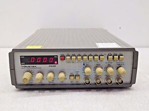 Rx 3771 Wavetek Fg3b Sweep Function Generator 117 Volt 50 60 Hz 20 Va Max