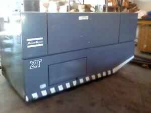 Used 50 hp Atlas Copco Oil less Rotary Air Compressor
