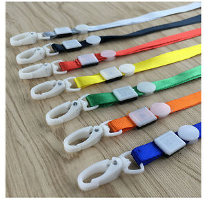 Wholesale 200 Neck Strap Lanyard Necklace For Id Card Badge Holder Work Permit