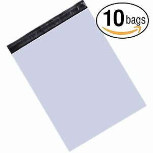 23 5x30 Jumbo Poly Mailers 2 5 Mil Envelopes Shipping Bags White