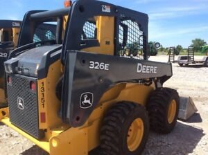 2015 John Deere 326e Skid Steer Loaders
