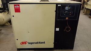 Used 50 hp Ingersoll rand Up 6 50 With Computer 230 460v Rotary Air Compressor