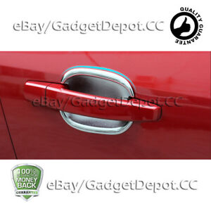 For 2012 2013 2014 Chevrolet Sonic Chrome Door Handle Bowls