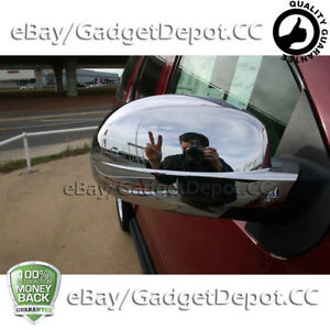 For 2007 2008 2009 2010 2011 2012 2013 Chevrolet Tahoe Chrome Mirror Covers