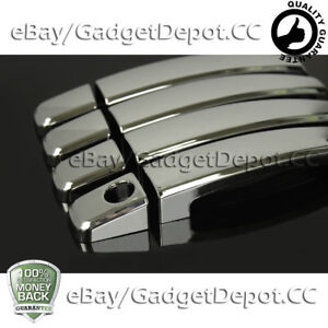 For 2012 2013 2014 Chevrolet Sonic Chrome Door Handle Covers