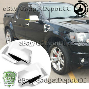 For 2007 2008 2009 2010 Ford Explorer Sport Trac Chrome Mirror Covers