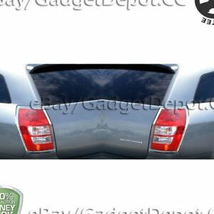 For 2005 2006 2007 2008 Dodge Magnum Chrome Rear Tail Light Covers Molding Trims