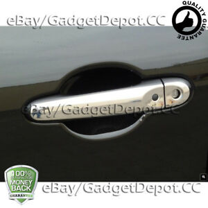 For 2011 2012 2013 2014 Nissan Juke Chrome Door Handle Covers