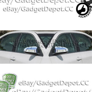 For 2012 2013 2014 2015 2016 2017 Toyota Camry Chrome Mirror Covers Molding Trim