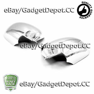Chrome Mirror Covers Trim Fit For Nissan Juke 2011 2012 2013 2014 2015 2016 2017