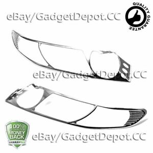 For 2006 2007 2008 2009 2010 2011 Honda Civic Chrome Headlight Covers