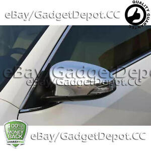 For 2013 2014 2015 2016 2017 Toyota Venza Chrome Mirror Covers W Turning Light