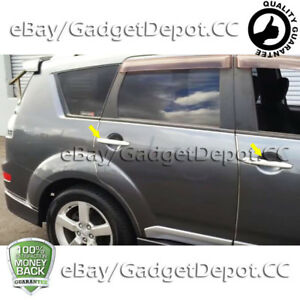 For 2003 2004 2005 2006 Mitsubishi Outlander Chrome Door Handle Covers