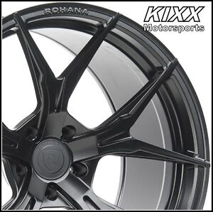 20 Rohana Rfx5 20x9 10 Forged Black Concave Wheels Rims For Lexus Isf