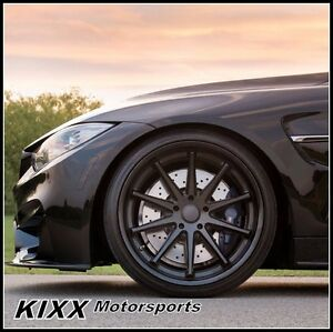 19 Rohana Rc10 19x8 5 9 5 Black Concave Wheels For Lexus Isf