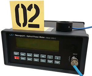 Newport 1830 c Optical Power Meter Tag 02