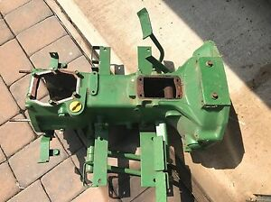 John Deere 650 750 Complete Transmission Clutch Tunnel Case With Pedals