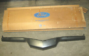 1972 Ford Thunderbird Front Header Panel Parts Number D2sz 8190 a