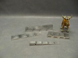 Step Thickness Calibration Block Aluminum Lot Of 4