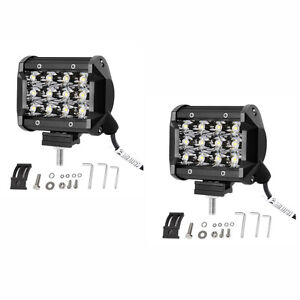 2pcs 4inch 36w Led Work Light Bar Driving Spot Lights For Off Road Car Atv Suv