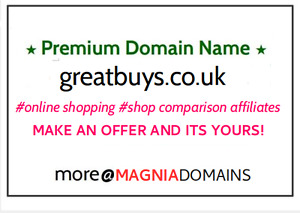 Premium Domain Greatbuys co uk Online Shopping Site Price Comparison Site