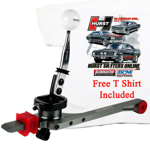 Hurst 3915201 2005 2010 Mustang V8 4 6l Billet Plus 5 Speed Shifter Free T Shirt