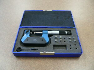 Screw Thread Micrometer 0 1 0 001 Anvil Sets Included