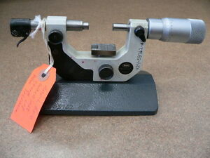 Mahr Federal Bench Micrometer 0 2