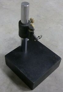 Indicator Stand 10 Granite Base Surface Plate 6 X 6 X 2